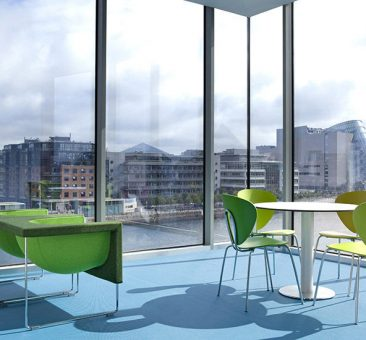 Office fit out dlight for Citco headquarters