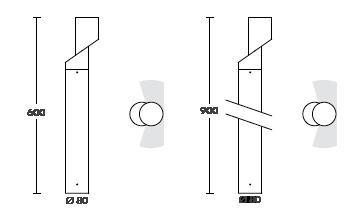 spec for ghidini bollard light